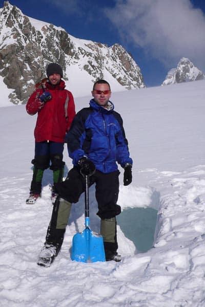 Snow Caving Fox Glacier