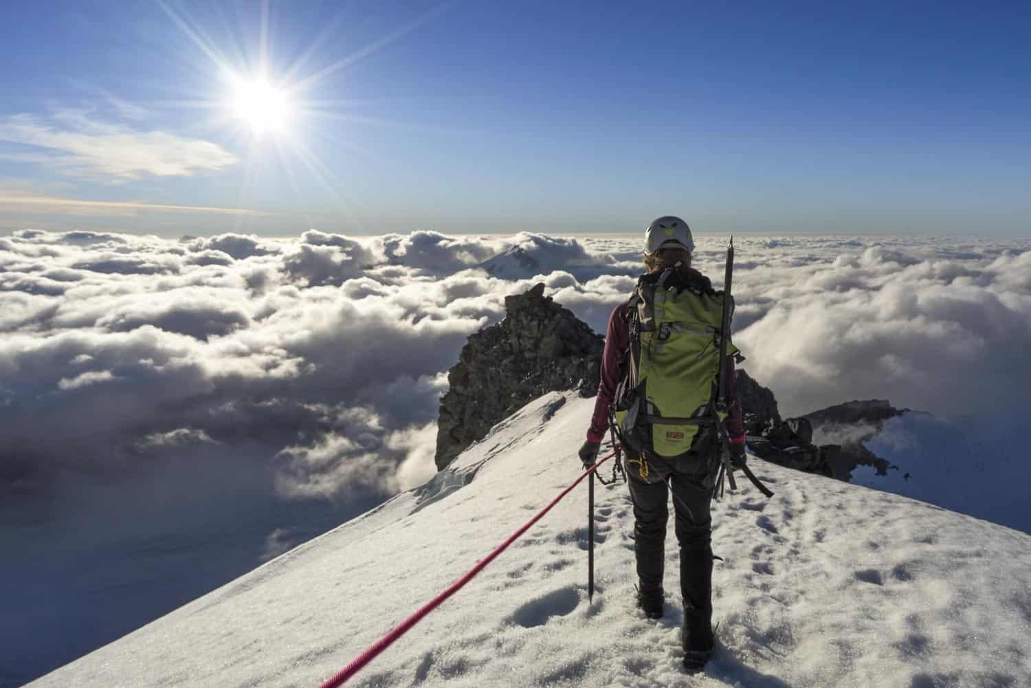 Self Mastery and Self Development Through Mountaineering