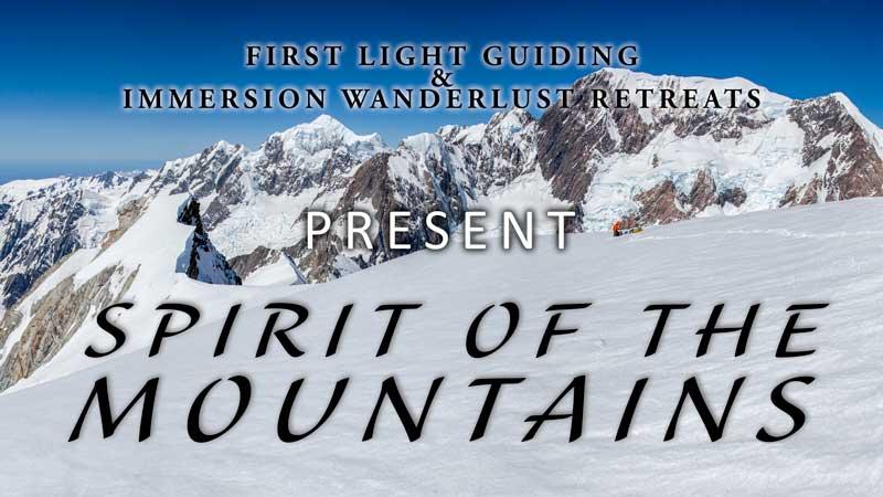 Spiritual Mountain Retreat New Zealand poster