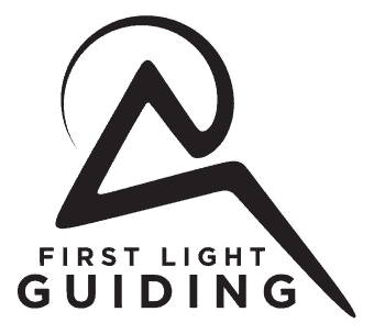 First Light Guiding Mountaineering in New Zealand Logo