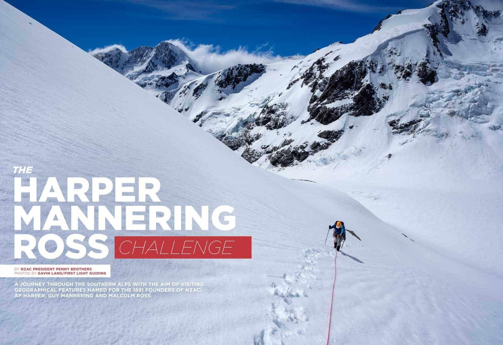 The Climber Magazine – Harper Mannering Ross Challenge
