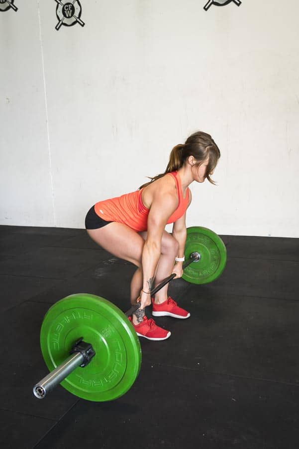 Bottom of Deadlift