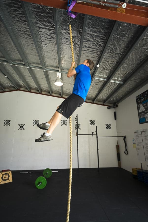 Legless Rope Climb
