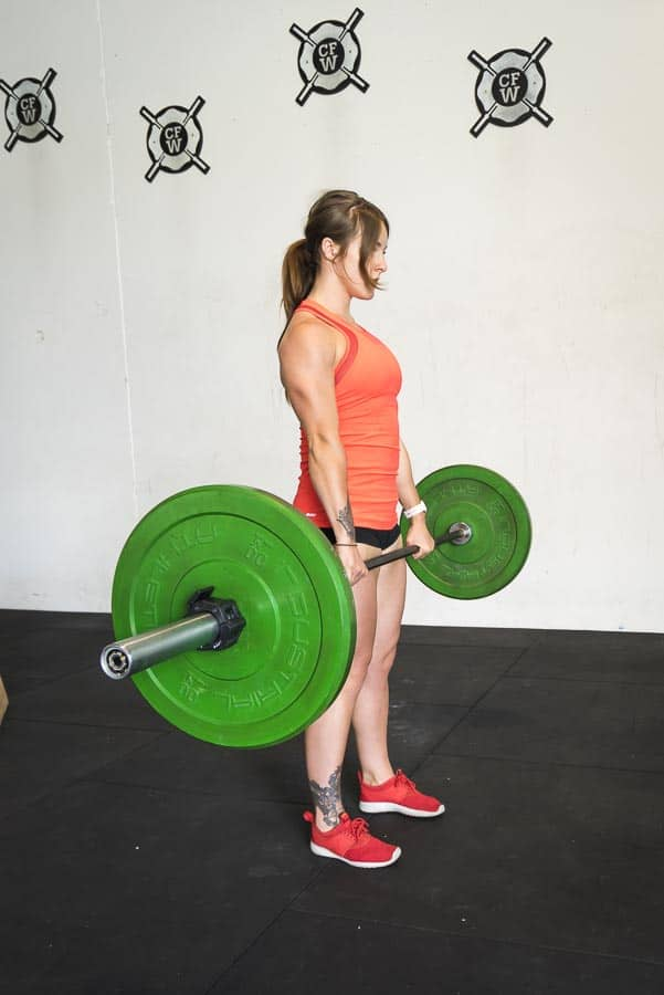 Top of Deadlift
