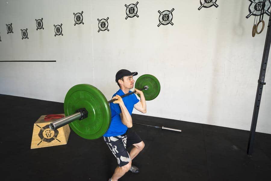 Transition phase of Push Press