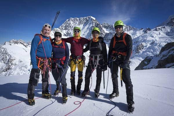 Glacier Dome Summit