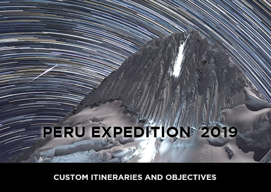 peru mountaineering expedition 2019